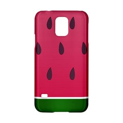 Watermelon Fruit Summer Red Fresh Samsung Galaxy S5 Hardshell Case