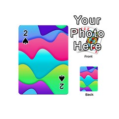Lines Curves Colors Geometric Lines Playing Cards 54 (mini)