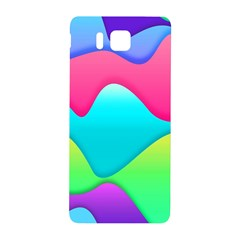 Lines Curves Colors Geometric Lines Samsung Galaxy Alpha Hardshell Back Case