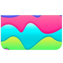 Lines Curves Colors Geometric Lines Lunch Bag by Nexatart