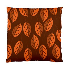 Pattern Leaf Plant Decoration Standard Cushion Case (one Side)