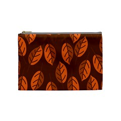 Pattern Leaf Plant Decoration Cosmetic Bag (medium)