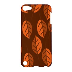Pattern Leaf Plant Decoration Apple Ipod Touch 5 Hardshell Case
