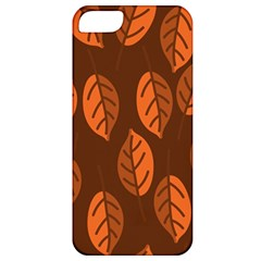 Pattern Leaf Plant Decoration Apple Iphone 5 Classic Hardshell Case