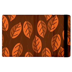 Pattern Leaf Plant Decoration Apple Ipad 2 Flip Case
