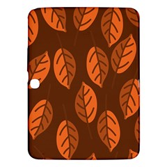 Pattern Leaf Plant Decoration Samsung Galaxy Tab 3 (10 1 ) P5200 Hardshell Case