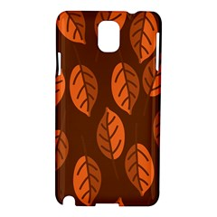 Pattern Leaf Plant Decoration Samsung Galaxy Note 3 N9005 Hardshell Case