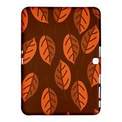 Pattern Leaf Plant Decoration Samsung Galaxy Tab 4 (10 1 ) Hardshell Case
