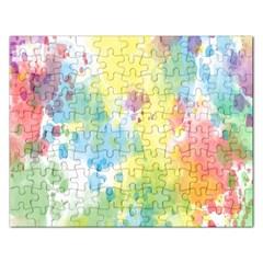 Abstract Pattern Color Art Texture Rectangular Jigsaw Puzzl