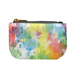 Abstract Pattern Color Art Texture Mini Coin Purses