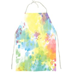 Abstract Pattern Color Art Texture Full Print Aprons