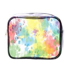 Abstract Pattern Color Art Texture Mini Toiletries Bags