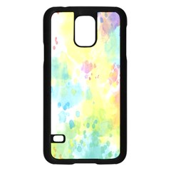 Abstract Pattern Color Art Texture Samsung Galaxy S5 Case (black)