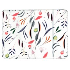 Watercolor Tablecloth Fabric Design Samsung Galaxy Tab 7  P1000 Flip Case