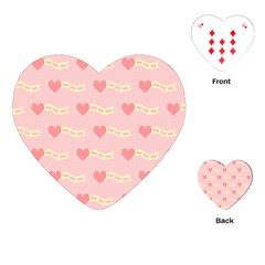 Heart Love Pattern Playing Cards (heart)