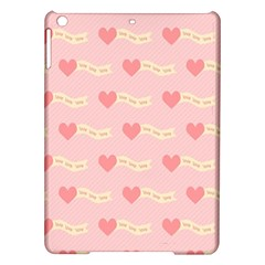 Heart Love Pattern Ipad Air Hardshell Cases