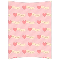 Heart Love Pattern Back Support Cushion