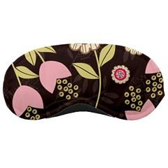 Flowers Wallpaper Floral Decoration Sleeping Masks by Nexatart