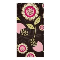 Flowers Wallpaper Floral Decoration Shower Curtain 36  X 72  (stall)