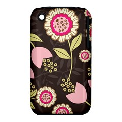 Flowers Wallpaper Floral Decoration Iphone 3s/3gs by Nexatart