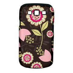 Flowers Wallpaper Floral Decoration Samsung Galaxy S Iii Classic Hardshell Case (pc+silicone)