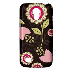Flowers Wallpaper Floral Decoration Samsung Galaxy S4 Mini (gt I9190) Hardshell Case