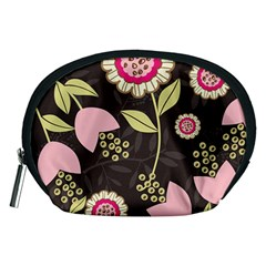 Flowers Wallpaper Floral Decoration Accessory Pouches (medium)