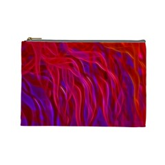 Background Texture Pattern Cosmetic Bag (large)