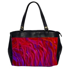 Background Texture Pattern Office Handbags (2 Sides)