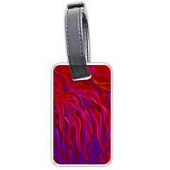 Background Texture Pattern Luggage Tags (one Side)