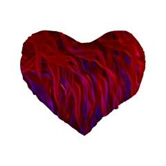 Background Texture Pattern Standard 16  Premium Flano Heart Shape Cushions