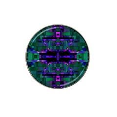 Abstract Pattern Desktop Wallpaper Hat Clip Ball Marker (4 Pack)