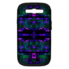 Abstract Pattern Desktop Wallpaper Samsung Galaxy S Iii Hardshell Case (pc+silicone)
