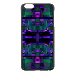Abstract Pattern Desktop Wallpaper Apple Iphone 6 Plus/6s Plus Black Enamel Case