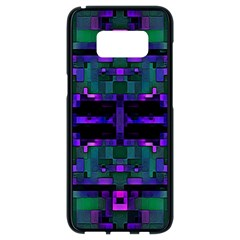 Abstract Pattern Desktop Wallpaper Samsung Galaxy S8 Black Seamless Case