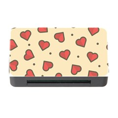 Design Love Heart Seamless Pattern Memory Card Reader With Cf