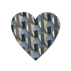 Pattern Texture Form Background Heart Magnet