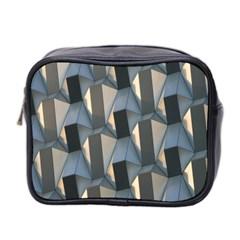 Pattern Texture Form Background Mini Toiletries Bag 2 Side