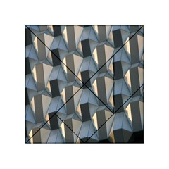 Pattern Texture Form Background Acrylic Tangram Puzzle (4  X 4 ) by Nexatart