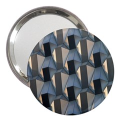 Pattern Texture Form Background 3  Handbag Mirrors
