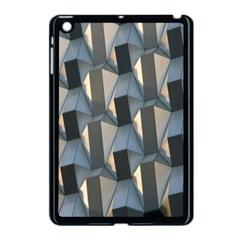 Pattern Texture Form Background Apple Ipad Mini Case (black)