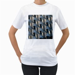 Pattern Texture Form Background Women s T Shirt (white)