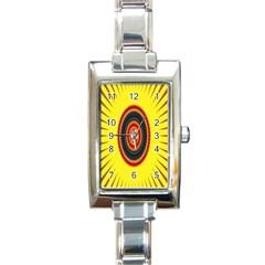 Art Decoration Wallpaper Bright Rectangle Italian Charm Watch