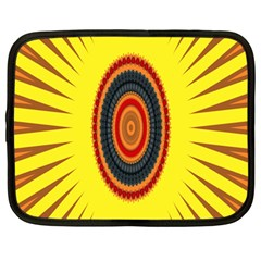 Art Decoration Wallpaper Bright Netbook Case (large)