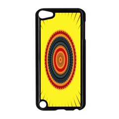 Art Decoration Wallpaper Bright Apple Ipod Touch 5 Case (black)