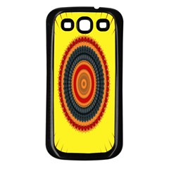Art Decoration Wallpaper Bright Samsung Galaxy S3 Back Case (black)