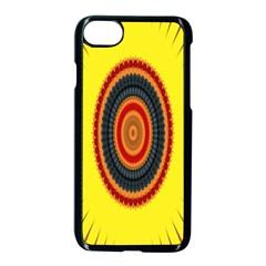Art Decoration Wallpaper Bright Apple Iphone 8 Seamless Case (black) by Nexatart