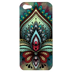 Decoration Pattern Ornate Art Apple Iphone 5 Hardshell Case