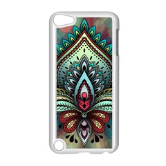Decoration Pattern Ornate Art Apple Ipod Touch 5 Case (white)