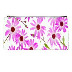 Pink Purple Daisies Design Flowers Pencil Cases by Nexatart